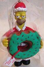 New Carlton Cards Heirloom Homer Simpson Santa Christmas Ornament