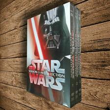 Star Wars Saga Movie Episodes Season 1-9 Complete Dvd Brand New Fast Shipping Us