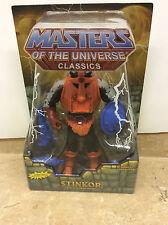 Mattel Masters Of The Universe Classics MOTUC Stinkor Sealed W/ Case