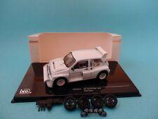 Mg metro 6R4 Plain Body Versión 1985 blanco 1 43 Ixo