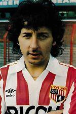 Football Photo>MICKEY THOMAS Stoke City 1982-83