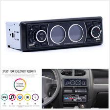 Bluetooth 1Din Car Stereo Audio In-Dash MP3 Player Radio USB/AUX/FM Receiver Mic