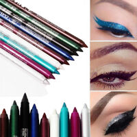 2PCS Longlasting Makeup Eye Liner Pencil Pigment Waterproof  Eyeliner Cosmetic