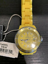 Toy Watch, Women, Yellow, Brand New With Tags