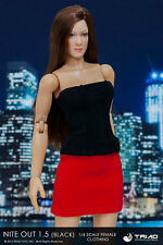 Triad Toys Nite Out 1.5 Black/Red Female Accessory Outfit Set