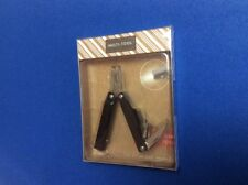 Multi functional tool: pliers, wire cutters, screwdrivers, bottle opener, light