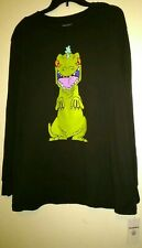 L Official Nickelodeon's Rugrats REPTAR NEFF Collection MENS Long Sleeved Shirt