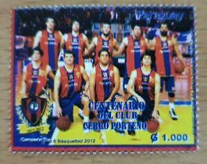 BASKETBALL Paraguay 2012 Clubmeisterschaft Basket SPORT postfrisch ** neu