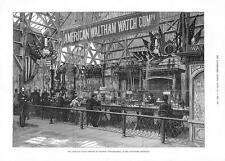 1885 inventions Exhibition American Watch Company Waltham, Massachusetts (056)