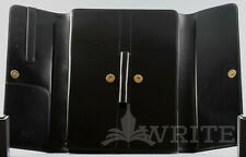 NEW! VERY RARE MONTBLANC MEISTERSTUCK A-5  LEATHER CONFERENCE FOLDER COMPLETETE