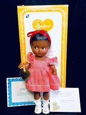 Effanbee Black Patsy Girl Doll Red/White Girl Original COA  Very Nice!