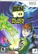 Ben 10: Alien Force Nintendo Wii -- Comes in case