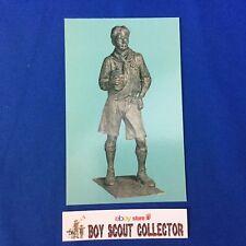 Boy Scout Postcard Dr. Tait McKenzie Statue Canada