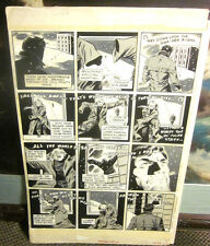 Original Comic Art CREEPY 75 Page 32 Wally WOOD Rich BUCKLER Warren Art SNOW