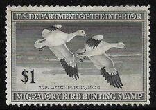 Rw14 1947 Federal Duck F-Vf Unsigned No Gum-No Faults-Ex