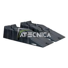 Coppia di rampe per auto 2,5 Ton FERVI R015 in polipropilene altezza 170mm