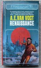 Renaissance by A.E. van Vogt PB 3rd Timescape 46841 - ultimate revolution