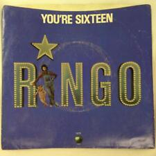 RINGO STARR 45 & Pic Sleeve: You're Sixteen / Devil Woman, Apple Records 1870