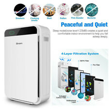 Large Room Air Purifier Office Air Cleaner Hepa Filter Remove Odor Dust Mold