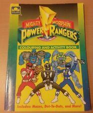 Mighty Morphin Power Rangers et Coloriage Activité Livre 1994