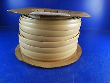 "Charter Vinyl T-Molding 1 1/4"" Maple Flat/Tan  250' Spool Counter top Edge Trim"