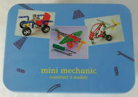 Apples to Pears Mini Mechanic Construction Set Gift In A Tin - 3 Models