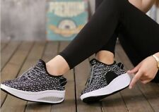 New Breathable Women's Shape Ups Toning Fitness Walking Comfort Shoes Sneakers