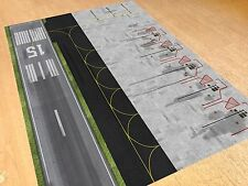 1/500 Model Airport Parking & Runway Section Foil/Apron Layout. 594mm x 841mm