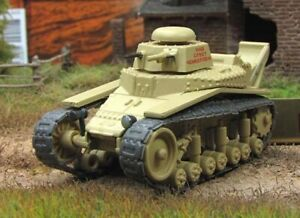 """Fabbri 1:72 Soviet tank T-18 №103 series """"Russian tanks"""""""