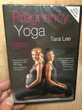 Pregnancy Yoga with Tara Lee(UK DVD)New+Sealed with Hypnobirthing Section Relax