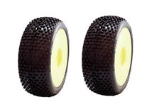 COPPIA GOMME TIRE 1/8 BUGGY SP RACING DEMOLITION COMPETION XSS INCOLLATE SP08900