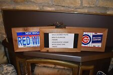 6X12 SIZE WOOD LICENSE PLATE SIGN DISPLAY FRAME RUSTIC CEDAR WOOD CRAFTS PHOTOS