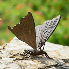 "Large Butterfly Garden Sculpture Metal Statue Yard Pool Pond Decor Outdoor 7.5""W"
