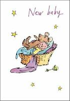 Quentin Blake New Baby Congratulations Greeting Card Popular Range Cards