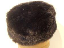 Cappello colbacco donna zarina pelliccia ecologica Karina marrone