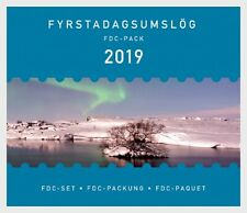 ICELAND 2019 FDC YEARPACK 2019