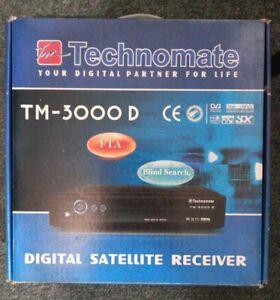 Technomate satellite receiver 3000D