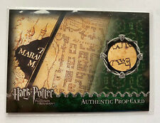 Harry Potter And Prisoner Of Azkaban The Marauder's Map Prop Card #160/500