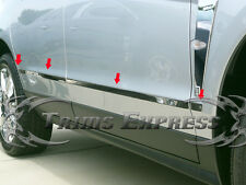 2010-2016 Cadillac SRX 8Pc Chrome Lower Body Side Molding Trim Stainless Steel