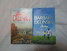 Lot of 2~Barbara Delinsky Chic Lit Romance~Carpenter Destiny~LBDPB