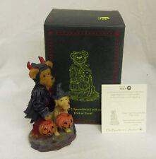 Timmy Spookelbeary 1st Edition Boyds Bearstone Halloween 4.5in figurine 4022265