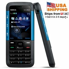 USA !  Nokia Xpress Music 5310 BLUE (T-Mobile) Mobile Phone Bar 1 year warranty