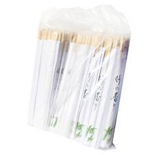 KK Einweg runde schmale Essstäbchen in weißer Papierhülle 100 Paar