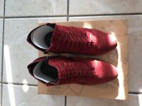 Free People Loveland Suede Ankle Boots Sz 38/ US 7.5-8