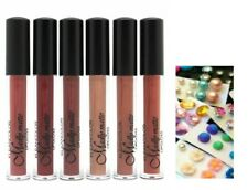 6 PCs set Kleancolor Madly Matte Liquid LipGloss Lipstick LG1815 & EARRINGS