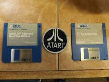 """Atari STE, MEGA STE - Software 3.5"""" MEGA STE ADVANCED HARD DISK, STE LANGUAGE"""