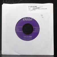 "Gene Vincent - Wear My Ring / Lotta Lovin' 7"" VG Vinyl 45 Capitol F3763 USA 1957"