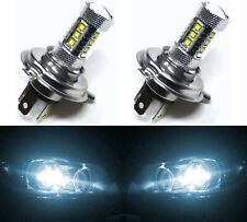 LED 80W HS1 12V White 6000K Two Bulbs Head Light Replace Motorcycle Bike