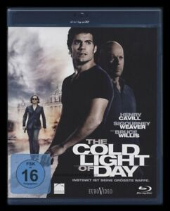 BLU-RAY THE COLD LIGHT OF DAY - THRILLER - BRUCE WILLIS & SIGOURNEY WEAVER * NEU
