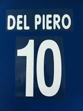 Juventus kit DEL PIERO bianco Nameset maglia calcio lotto